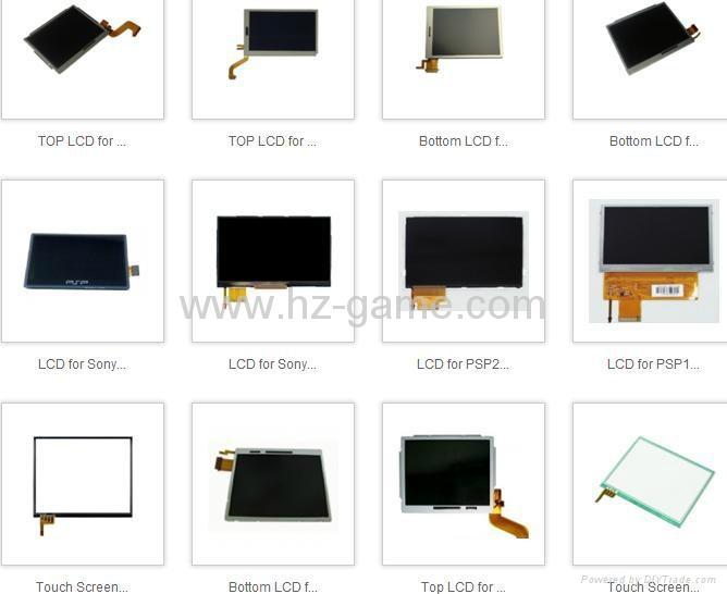 原装全新 3DSXL/3DSLL液晶屏LCD,PSPGO/PSP3000/PSVITA/DSIXL/NDSi液晶屏 4