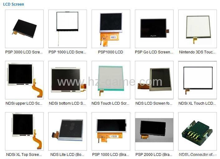 原装全新 3DSXL/3DSLL液晶屏LCD,PSPGO/PSP3000/PSVITA/DSIXL/NDSi液晶屏 6