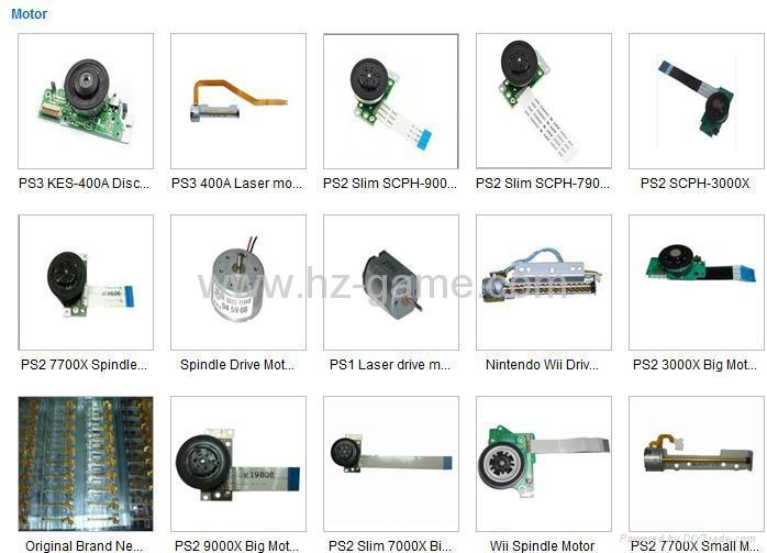 PS2 NIDEC日產電機馬達,PS2薄機,7萬,9萬馬達,SCPH-7900X主軸驅動馬達 4