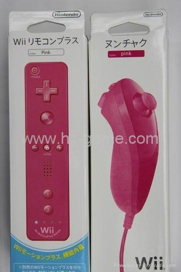 WiiU / Wii手柄 wii左右手柄 wii右手柄内置加速器 2合1左右手柄 12