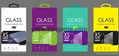 HOT H9 2.5D 0.1mm tempered glass lcd screen protector for iphone4/5