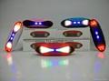 新款X6小橄榄球带灯LED蓝牙音箱发光玄幻音响无线迷你蓝牙低音炮 4