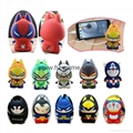 pull cat Cartoon External Mobile Phone Battery Pack Charger Universal Power Bank 1