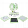 Multifunction Solar WITH Mini USB Fan +