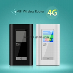 4G MiFi Unlocked 4G Network Router 3G/4G WiFi Router Two SIM Card