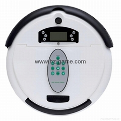 New intelligent sweep floor robot cleaner robot liquid crystal display
