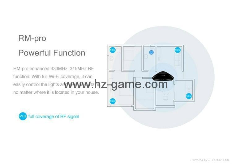 博联RM2/PRO Home wifi万能遥控器定时开关机空调电视 手机控制 11