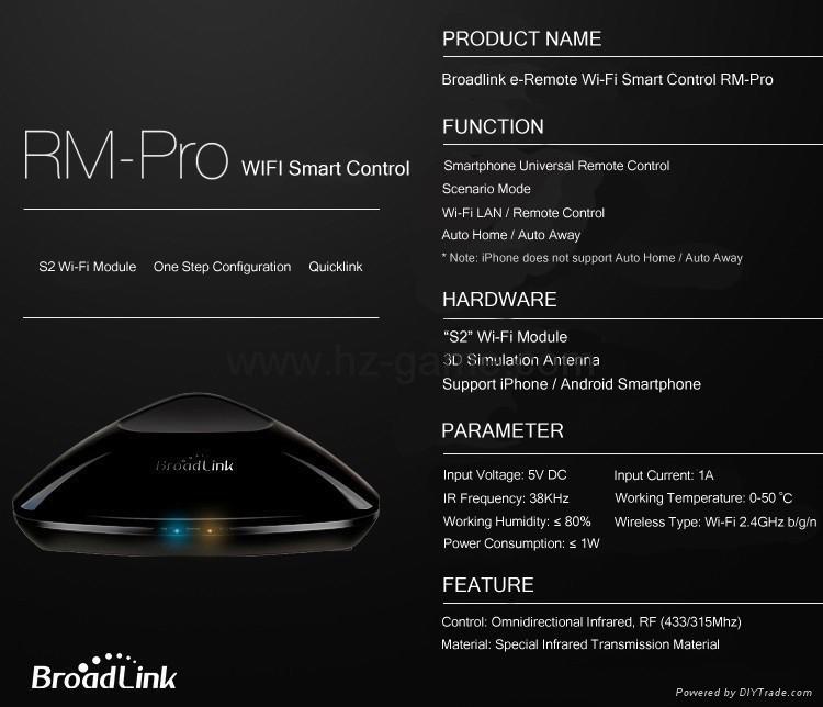 博联RM2/PRO Home wifi万能遥控器定时开关机空调电视 手机控制 15
