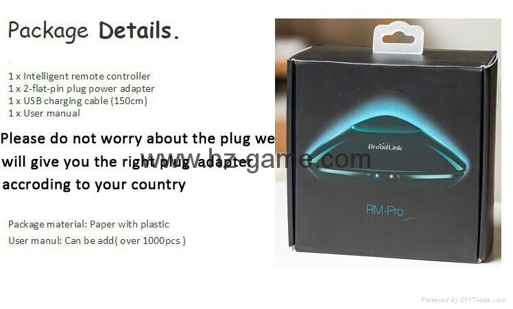 博联RM2/PRO Home wifi万能遥控器定时开关机空调电视 手机控制 16