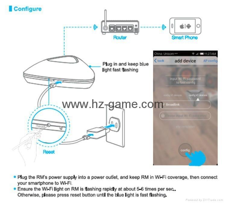 博联RM2/PRO Home wifi万能遥控器定时开关机空调电视 手机控制 17