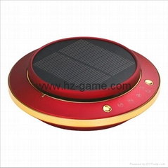 Solar car air purifier anion vehicle aromatherapy machine Air purification