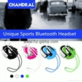 Binaural Motion Type Earphone Bluetooth 4 Stereo Sound Headset for mobile Millet