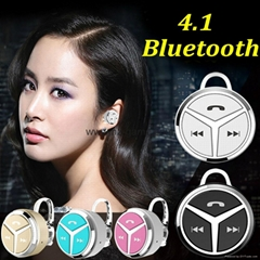 new mini ear phone 4.1 Q5 ears hanging stereo micro ears bluetooth headset