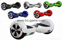 新款电动双轮扭扭车6.5寸双轮平衡车智能思维车电动滑板车代步车