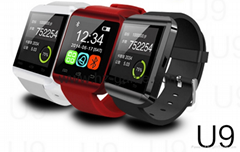 new u9 Bluetooth Smart Watch Android Watch Digital Sport Wrist  LED Watch