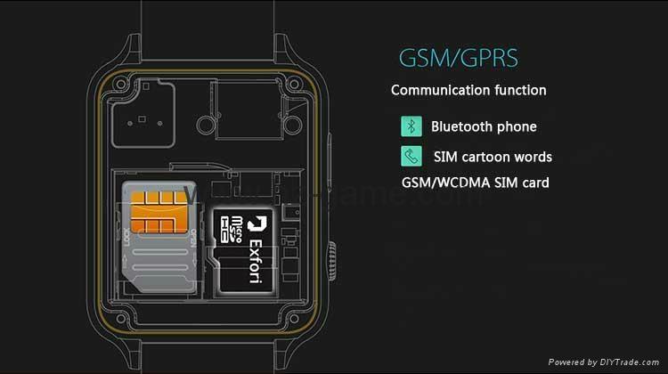 批发智能手表 gt88首款支持苹果系统和安卓系统心率测试防水插卡 8