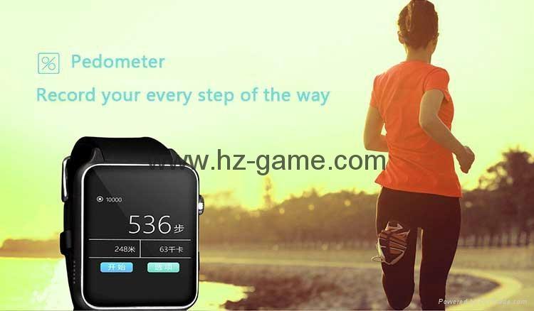 批发智能手表 gt88首款支持苹果系统和安卓系统心率测试防水插卡 10