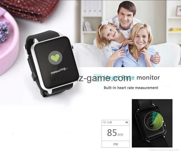批发智能手表 gt88首款支持苹果系统和安卓系统心率测试防水插卡 18