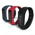 New Bluetooth Smart Bracelet Sports/Sleep Monitor Call/SMS Remind Watch