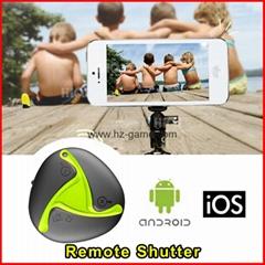 new Lucky Stone Wireless Bluetooth Remote Shutter Camera Self-timer Shutter