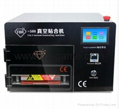 5in1 Vacuum OCA laminating machine Vacuum Pump Air Compressor lcd repair machine