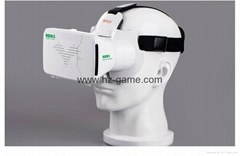 New RIEM3 3D Glasses Upgraded Version 360degree Virtual Reality 3D Video Glasses