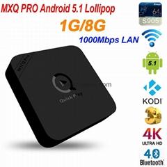 New MXQ Pro Amlogic Quad Core Andorid 5.1 TV BOX WiFi  KODI