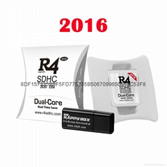 HOT  2016  R4i dual core (The White), R4isdhc 3ds dsi, R4 3ds fire card (Hot Product - 1*)