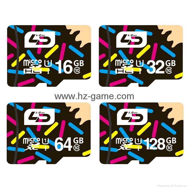 批发金士顿手机内存卡 TF卡 4G 8G 16G 32G 64G Micro SD卡 正品 10