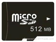 Kingston Micro SD TF memory Card 1GB 2GB 4GB 8GB 16GB 32GB 64gb 128gb 256gb 7
