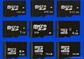 TF MICRO SD/SD内存卡MS/HX/M2/MMC/CF内存卡 12