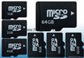 Kingston Micro SD TF memory Card 1GB 2GB 4GB 8GB 16GB 32GB 64gb 128gb 256gb 13