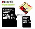 Kingston Micro SD TF memory Card 1GB 2GB 4GB 8GB 16GB 32GB 64gb 128gb 256gb 1