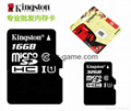 Kingston Micro SD TF memory Card 1GB 2GB 4GB 8GB 16GB 32GB 64gb 128gb 256gb