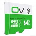 OV Micro SD Card 64GB Class1016GB Memory Card Flash Memory Micro sd 16