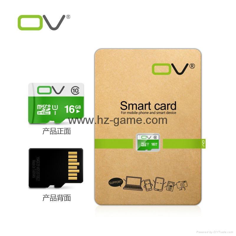 OV 8G内存卡16G TF卡32G 64G 128G行车记录仪高速存储卡 C10 4
