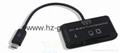 新款多合一USB3.0帶線讀卡器CF MD SD TF卡廠價批發正品 2