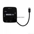 新款多合一USB3.0帶線讀卡器CF MD SD TF卡廠價批發正品 14