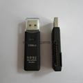 新款多合一USB3.0帶線讀卡器CF MD SD TF卡廠價批發正品 16