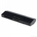 新款多合一USB3.0带线读卡器CF MD SD TF卡厂价批发正品 19