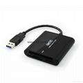 新款多合一USB3.0帶線讀卡器CF MD SD TF卡廠價批發正品 4