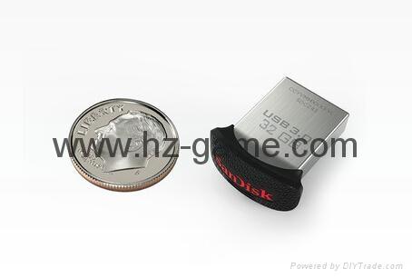 批发闪迪(SanDisk)酷刃 (CZ50) 8GB U盘 黑红 6