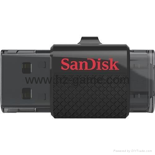 批发闪迪(SanDisk)酷刃 (CZ50) 8GB U盘 黑红 2
