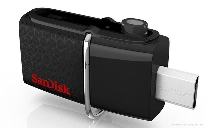 批发闪迪(SanDisk)酷刃 (CZ50) 8GB U盘 黑红 3