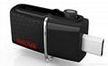 批發閃迪(SanDisk)酷刃 (CZ50) 8GB U盤 黑紅 3
