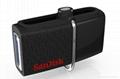 批發閃迪(SanDisk)酷刃 (CZ50) 8GB U盤 黑紅 8
