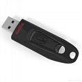 批發閃迪(SanDisk)酷刃 (CZ50) 8GB U盤 黑紅 5
