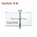 批发闪迪(SanDisk)酷刃 (CZ50) 8GB U盘 黑红 14