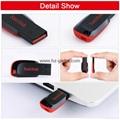 批發閃迪(SanDisk)酷刃 (CZ50) 8GB U盤 黑紅 18