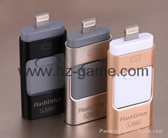 NEW istick Pen Drive OTG For iphone,idiskk,idrive USB Flash Drive 8G/16g/32G/64G